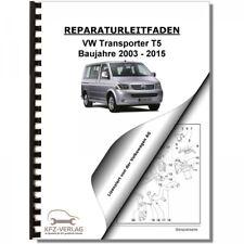 VW Transporter/Bus T5 (03-15) 5-Zyl. 2,5l Dieselmotor TDI - Reparaturanleitung
