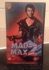VHS Video ~ Mad Max 2 ~ Mel Gibson ~ Warner Road Warrior