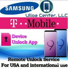 Factory Unlock Services Tmobile Galaxy s7/s8-S8+/S9-S9+ and Note 8 Remotely