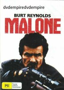 Malone DVD Burt Reynolds New and Sealed Australian Release