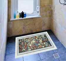 Ponds Cobblestone Vinyl Art Home Decals Wall bathroom Floor Stickers Removable