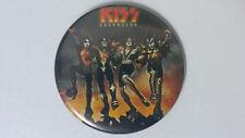 Kiss Destroyer album cover vintage metal buttons GENE ACE PETER LARGE BUTTON