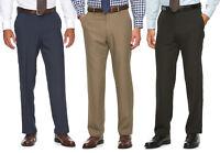 New Croft & Barrow Mens Stretch Comfort Opticool Flat-Front Dress Pants MSRP $54