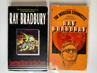 SOMETHING WICKED THIS WAY COMES & MARTIAN CHRONICLES By RAY BRADBURY, Paperbacks