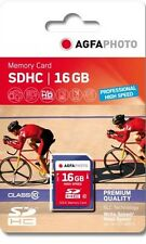 AGFAPHOTO 16GB SDHC Class 10 Ultra High Speed 90mb/s speed for Cameras and PDAs