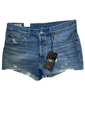 levi premium 501 shorts mid rise Size 31  new with tags