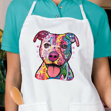 Neon Pit Bull Dog New Apron Grill Cook Bar Gifts Events Unisex CHOOSE COLOR Look