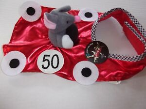 fast and curious mouse rider dog costume pet  bootique halloween XS S M new cat
