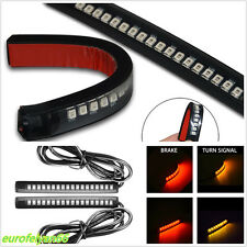 2 Pcs 18LED Dual Color Car Rear Bumper Taillight Brake Stop Turn Signal Lamp Bar