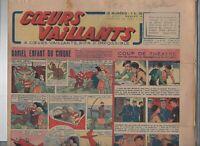 COEURS VAILLANTS 1943 n°13. Tintin. Le Crabe aux Pinces d'or. Hergé