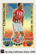 2010-11 Topps Match Attax Man Of Match Foil No 420 M. Etherington (Stoke City)