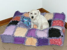Ashlawnfarms Rag Quilt Dog Bed DIY Tutorial Instructions
