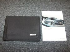 2017 Audi TT Coupe Owner Owner's Operator Guide Manual Set 2.0T Quattro 2.0L