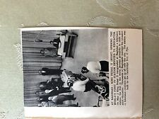 A2j Ephemera 1956 picture king feisal ii opens tv station baghdad