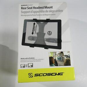 Scosche Rear Seat Headrest Tablet Mount New Open Box