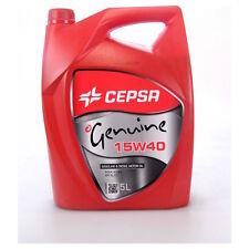 Botella de 5 litros aceite de motor Cepsa Genuine - 15 W 40 - 15W40 gasolina