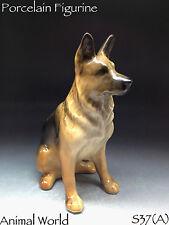 Figurine German Shepherd Dog porcelain Souvenirs Russia art decor home