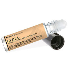 Chill (Reduce Stress & Relax) Essential Oil Roll On, Pre-Diluted 10ml by Aromine