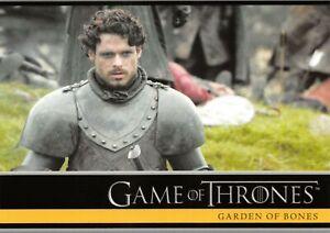 Game of Thrones Season 2 (2013) BASE Trading Card #10 / GARDEN OF BONES