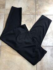asos curve Women 20 Black Side Zip Flat Front Trouser Pants OP