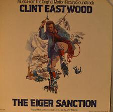 """OST - SOUNDTRACK - THE EIGER SANCTION - JOHN WILLIAMS  12"""" LP (L888)"""