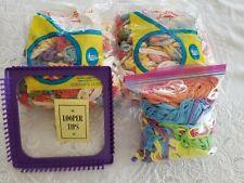 Vintage Cotton Blended Loops 2 bags 1 bag Nylon loops & loom