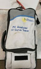 Solmetric Pva-1000S Pv Analyzer / I-V Curve Tracer Powers On For Parts Or Repair