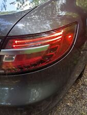Saab 9-5 95 2010-2011 Right passenger  tail lamp superficial crack