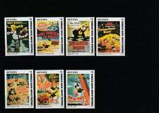 Serie Disney postfris MNH Guyana: Donald Movie Posters (dis002)
