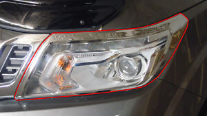 HEAD LAMP & TAIL LIGHT COVER CHROME FOR NISSAN FRONTIER NAVARA NP300 2014 - 2017