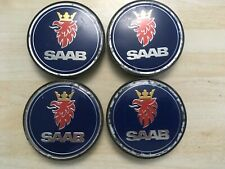 4x Saab 63mm  wheel centre caps  5236294   # JL41 / 2