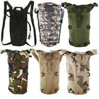 2.5L Hydration System Survival Water Bag Pouch Backpack Bladder Climbing Hiking