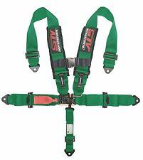 GREEN Racing 5 Point 3'' Safety Belt Harness Polaris UTV RZR XP 1000 900 800
