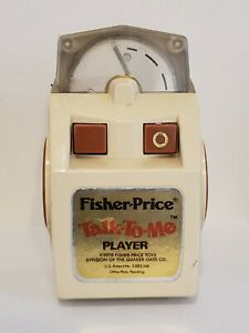 Vintage 1978 Fisher Price Talk-To-Me Player - Works - No Books Included