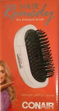 NEW Conair HAIR REMEDY DRY SHAMPOO BRUSH DETANGLE DEFRIZZ REVIVE ION MASSAGE