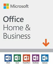 Microsoft Office Home and Business 2019 | Keycard | Windows 10 PC or Mac OSX |