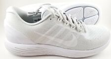 New Nike Lunarglide 9 Running Shoes Mens Size 8 Pure Platinum White