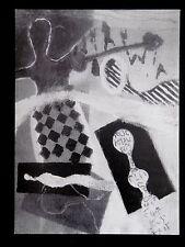 PONTUS CARLE / Carton Gal. Mabel Semmler Paris 1998 artiste suédois LUND Goetz