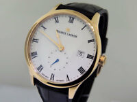 Maurice Lacroix Master Piece Tradition MP6907-PG101-113 18K Rose Gold $15900 NIB