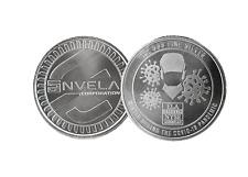 1 oz Envela 0.999 Silver Round - Cv Essential Workers Symbol Stamped