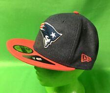 H170 NFL New England Patriots New Era 59FIFTY Baseball Hat/Cap 7-5/8 NWT