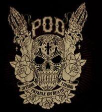 P.O.D. T- Shirt Pod Black Size Medium Official Licensed Band Merchandise New