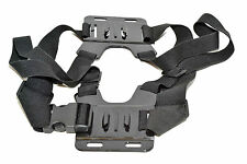 Front & Back Dual Camera mount Adjustable Elasticated Chest Harness GoPro Hero