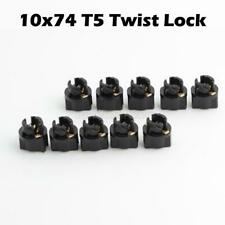 10) T5 Twist Socket Instrument Panel Cluster Plug Lamp Dash Light Bulb 58 70 73