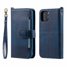 Flip Wallet 3in1 Leather Stand Magnetic Removable Case Cover For Apple iPhone