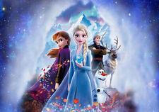 7X5Ft Frozen-Mountain Elsa Anna Princess backdrop ice party background