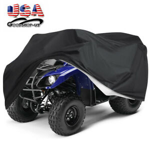 Heavy Duty 300D Oxford Protects 4 Wheeler from Snow Rain or Sun,Integrated Trailer System,158.10 x 62.06 x 75.20 SIGHTLING Waterproof UTV Cover