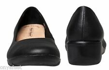 WOMENS HUSH PUPPIES ADULTS - DYLAN WALKING LEATHER SHOES