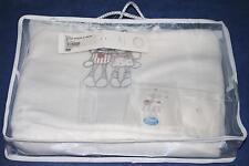 Housse matelas à langer Paquito et Lolita Noukie's blanc 60 x 85 cm