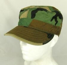 U.S. MILITARE equa industrie Woodland Mimetico CAP HAT EAR ALETTE TAGLIA 6 3/4 piccoli